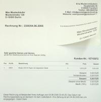 DIN A4 Papier mit integriertem Etikett 1 Kiste zu 600 Blatt